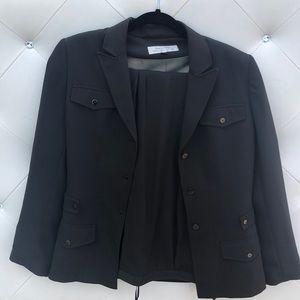 Tahari Women's Suit Size 6 - Dark Green